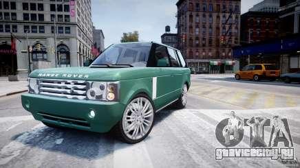 Range Rover Vogue для GTA 4
