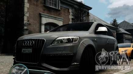 Audi Q7 V12 TDI Quattro Updated для GTA 4