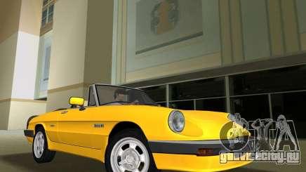 Alfa Romeo Spider 1986 для GTA Vice City