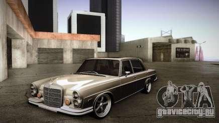 Mercedes Benz 300 SEL - Custom RC3D Edit для GTA San Andreas
