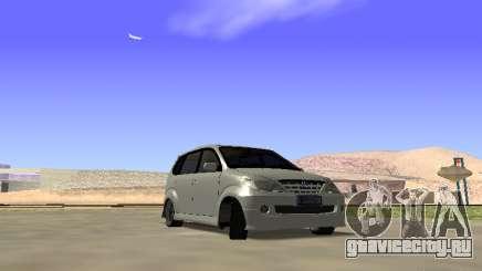 Toyota Avanza Street Edition для GTA San Andreas