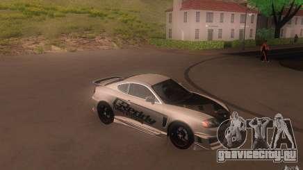 Hyundai Tiburon V6 Coupe tuning 2003 для GTA San Andreas