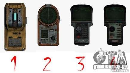 Детектор из S.T.A.L.K.E.R №2 для GTA San Andreas