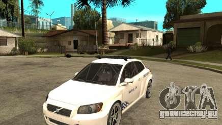 VOLVO C30 SAFETY CAR STCC v2.0 для GTA San Andreas