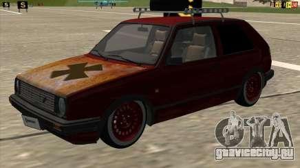VW Golf II Shadow Crew для GTA San Andreas