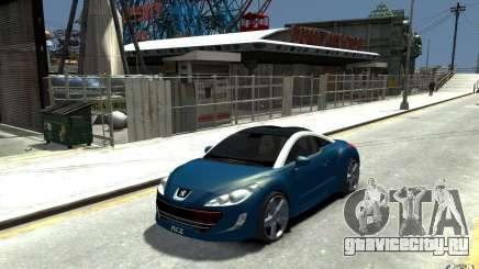 Peugeot 308 RC Z 2010 для GTA 4