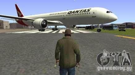 Boeing 787 Dreamliner Qantas для GTA San Andreas