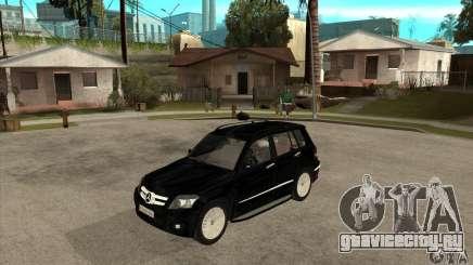 Mercedes Benz GLK300 для GTA San Andreas