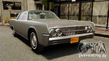 Lincoln Continental 1962 для GTA 4