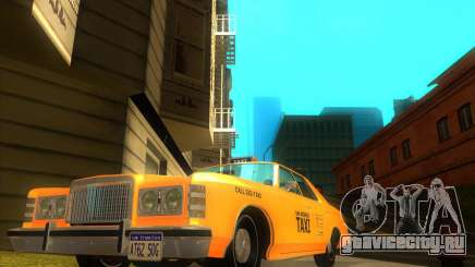 Ford Custom 500 4 door taxi 1975 для GTA San Andreas