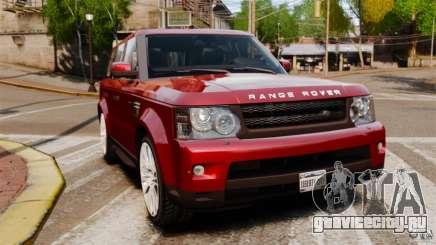 Land Rover Range Rover Sport HSE 2010 для GTA 4