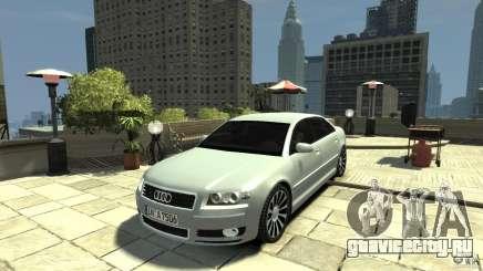 Audi A8 4.2 QUATTRO beta для GTA 4