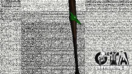 Бита с зелёной повязкой для GTA San Andreas