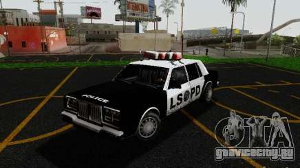 Greenwood Police LS для GTA San Andreas
