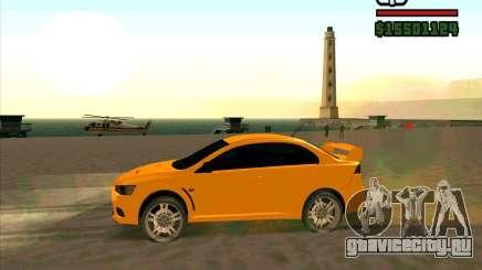Mitsubishi Lancer Evolution олива для GTA San Andreas