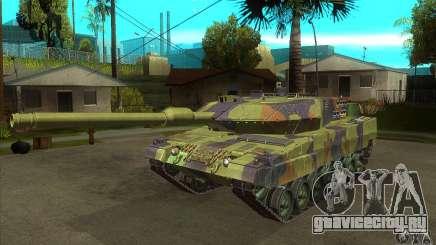 Leopard 2 A6 для GTA San Andreas