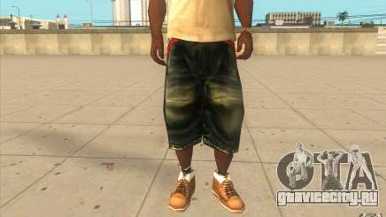The BIG Makaveli Short Jeans для GTA San Andreas