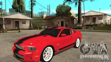 Ford Shelby GT500 Supersnake 2010 для GTA San Andreas