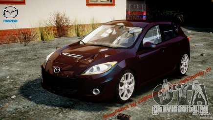 Mazda Speed 3 [Beta] для GTA 4