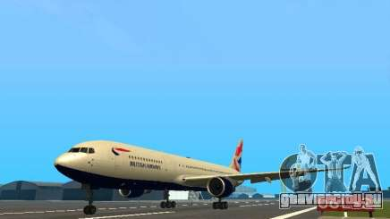 Boeing 767-300 British Airways для GTA San Andreas