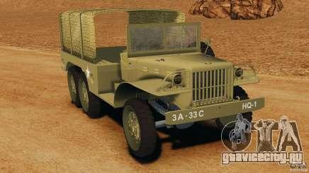 Dodge WC-62 3 Truck для GTA 4