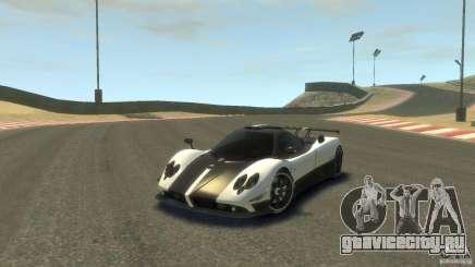 Pagani Zonda Cinque 2009 для GTA 4