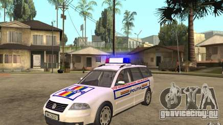 VW Passat B5+ Variant Politia Romana для GTA San Andreas