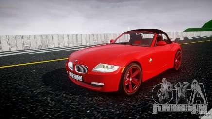 BMW Z4 Roadster 2007 i3.0 Final для GTA 4