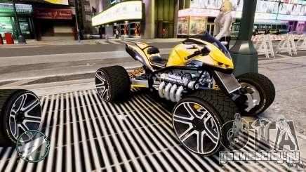 ATV Quad V8 для GTA 4