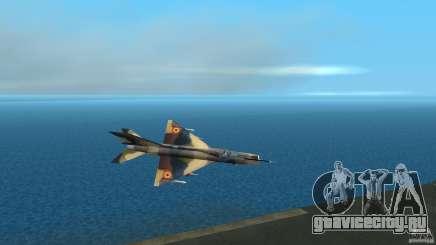 MiG 21 LanceR A для GTA Vice City