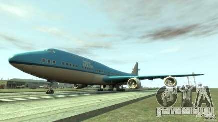 Real KLM Airplane Skin для GTA 4