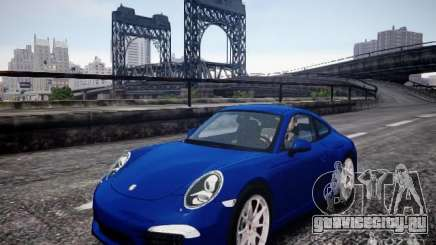 Porsche 911 Carrera S 2012 для GTA 4