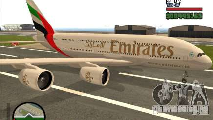 Boeing Emirates Airlines для GTA San Andreas