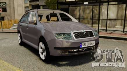 Skoda Fabia Combi для GTA 4