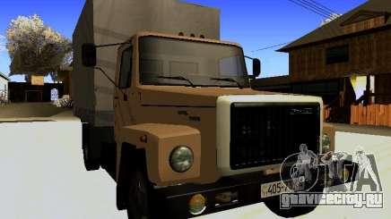 ГАЗ 3309 Классический Фургон для GTA San Andreas