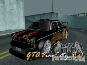 ВАЗ 2106 GTX tune для GTA San Andreas