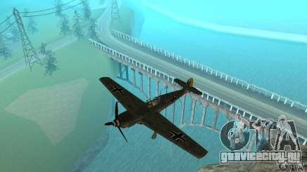 Bf-109 для GTA San Andreas