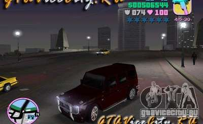Mercedes-Benz G500 Brabus для GTA Vice City
