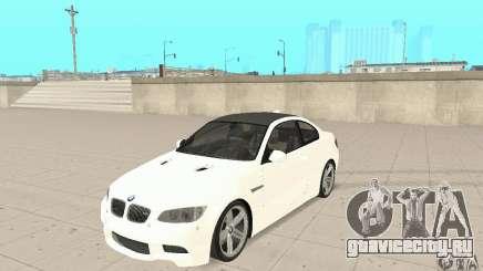 BMW M3 2008 для GTA San Andreas