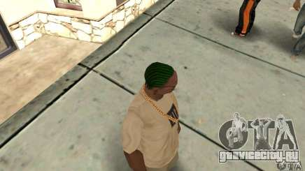 Зеленый корнроу для GTA San Andreas