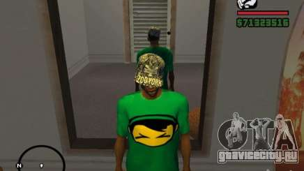 Кепка Zoo York для GTA San Andreas