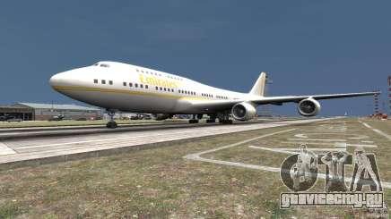 Real Emirates Airplane Skins Gold для GTA 4