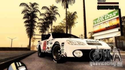 Dodge Nascar Beers Light 40 для GTA San Andreas