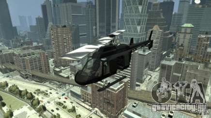 Black U.S. ARMY Helicopter v0.2 для GTA 4