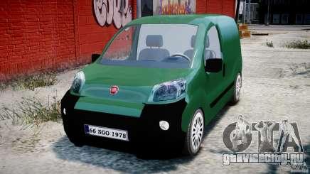 Fiat Fiorino 2008 Van для GTA 4