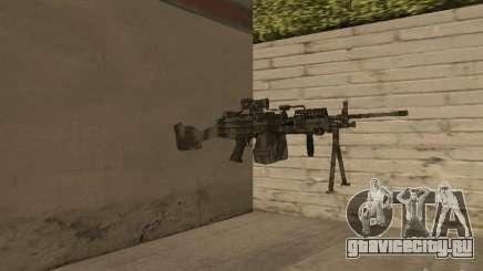 Пулемёт MK-48 для GTA San Andreas