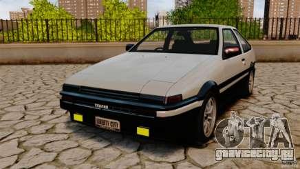 Toyota Sprinter Trueno GT 1985 Apex [EPM] для GTA 4