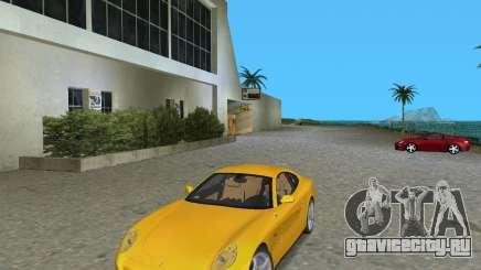 Ferrari 612 Scaglietti жёлтый для GTA Vice City