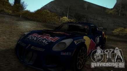 Pontiac Solstice Redbull Drift v2 для GTA San Andreas