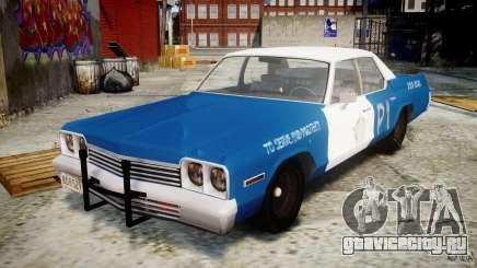 Dodge Monaco 1974 (bluesmobile) для GTA 4